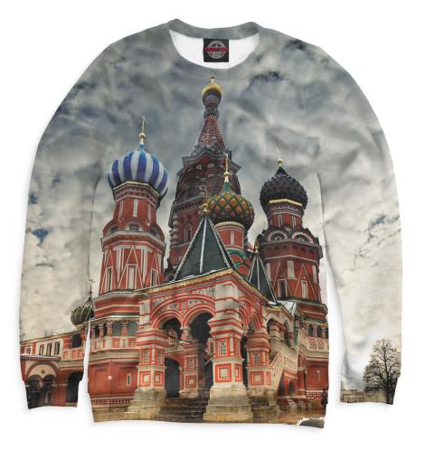 Женский свитшот Собор Василия Блаженного