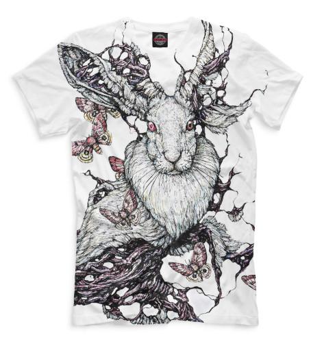 Мужская футболка Кролики