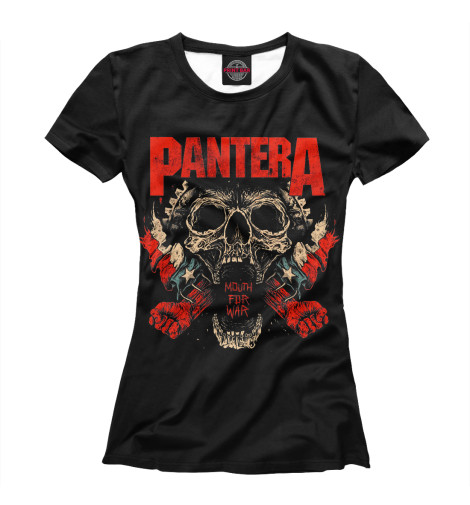 Футболка Print Bar Pantera Mouth For War свитшот print bar pantera skull and snake