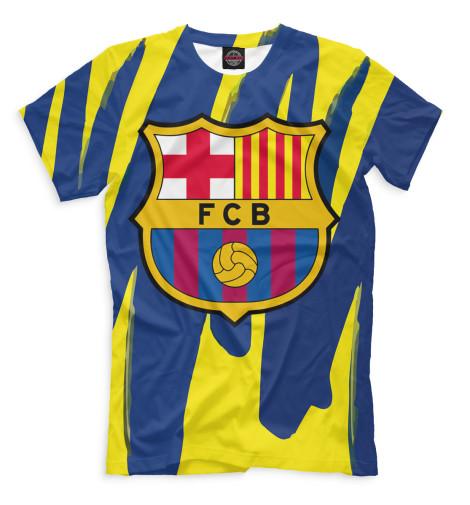 Мужская футболка Герб FC Barcelona