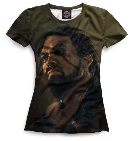 Женская футболка Дрого