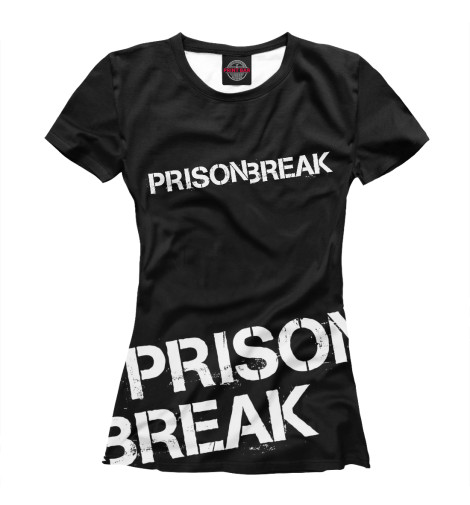 Футболка Print Bar Prison Break prison plus
