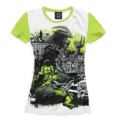 Женская футболка Черепашки-ниндзя
