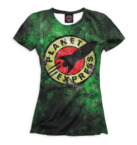 Футболка Print Bar Planet Express футболка print bar planet express