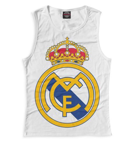 Женская майка Герб Реал Мадрид