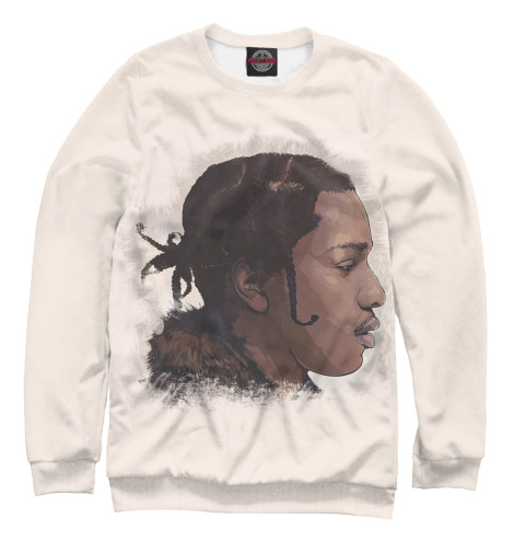 Свитшот Print Bar A$AP Rocky Art худи print bar a$ap rocky art