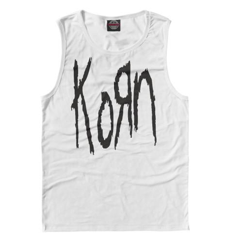 Майка Print Bar KoRn Logo майка print bar korn