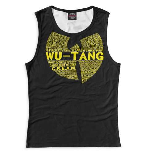 Женская майка Wu-Tang Clan