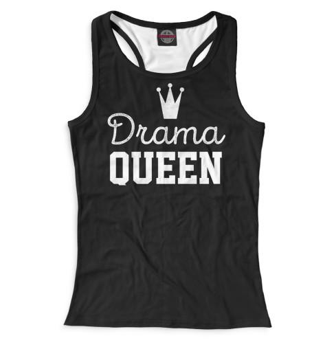 Женская майка-борцовка Drama Queen