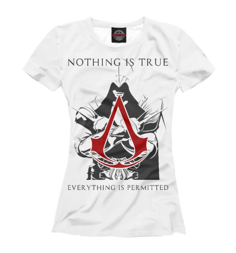 Футболка Print Bar Assassin's Creed assassin's creed – the hawk trilogy