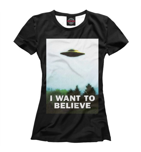 Футболка Print Bar I Want To Believe футболка print bar i want to believe