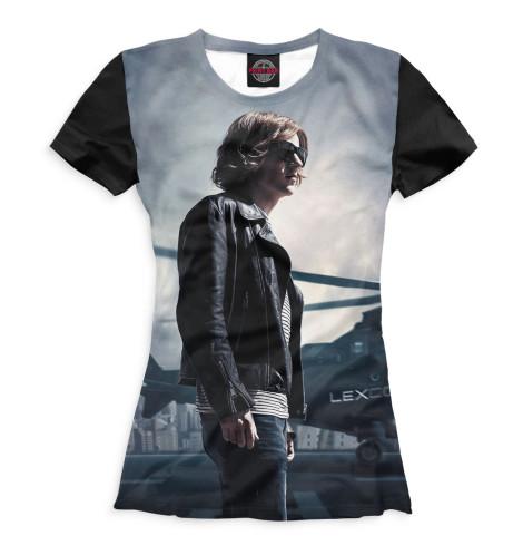 Женская футболка Лекс Лютор