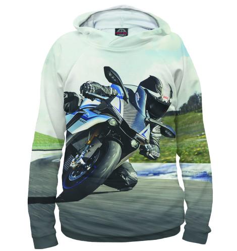 Женское худи Мотоциклист