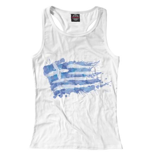 Купить Майка для девочки Греческий флаг Splash CTS-862090-mayb-1