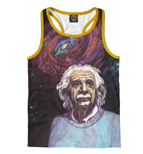 Майка борцовка Print Bar Эйнштейн майка борцовка print bar эйнштейн