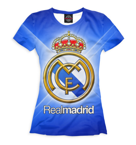 Женская футболка Real Madrid