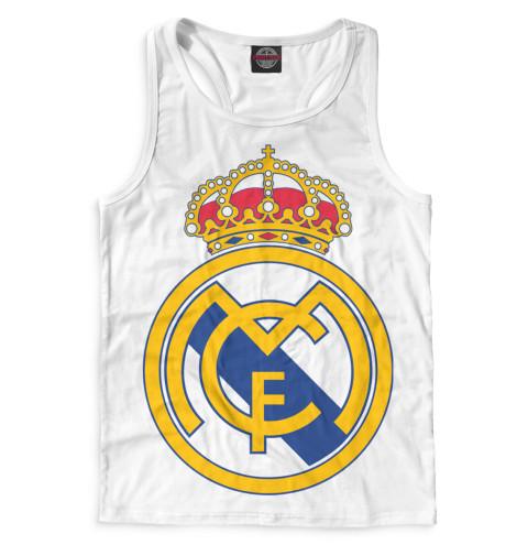 Мужская майка-борцовка Герб Реал Мадрид