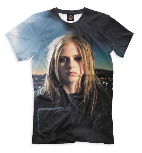 Мужская футболка Avril Lavigne
