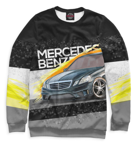 Свитшот Print Bar Mercedes-benz E-class mercedes а 160 с пробегом