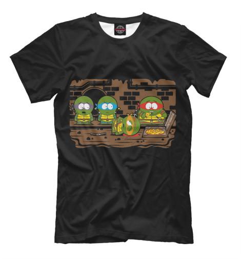 Футболка Print Bar Turtles - South Park свитшот print bar brooklyn turtles