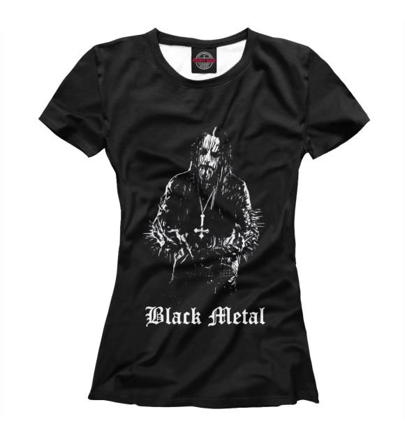 Купить Женская футболка Black Metal MZK-885762-fut-1