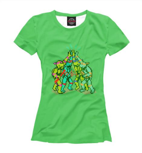 Футболка Print Bar PXL Turtles футболка print bar brooklyn turtles