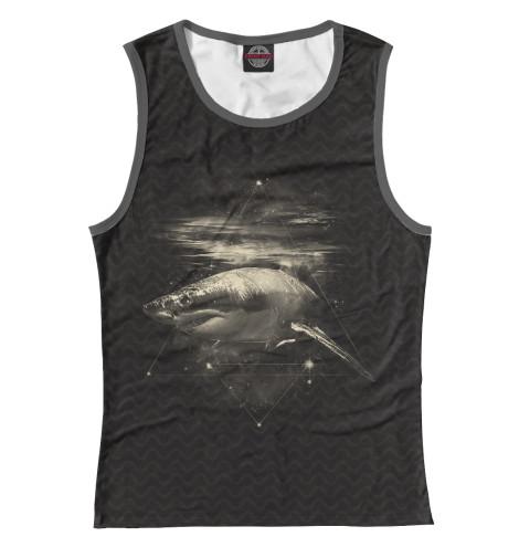 Майка Print Bar Cosmic Shark cosmic 2