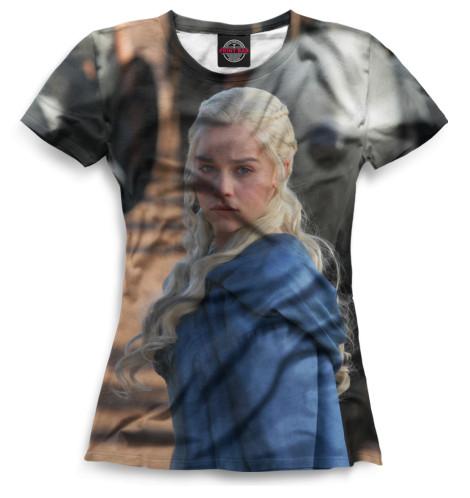 Женская футболка Дейнерис Таргариен