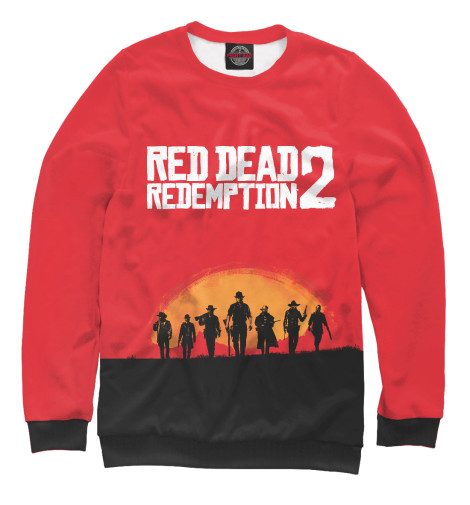 Свитшот Print Bar Red Dead Redemption 2 майка борцовка print bar red dead redemption 2