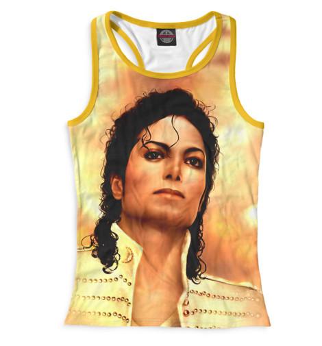 Женская майка-борцовка Michael Jackson