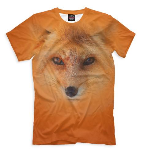 Мужская футболка Лиса