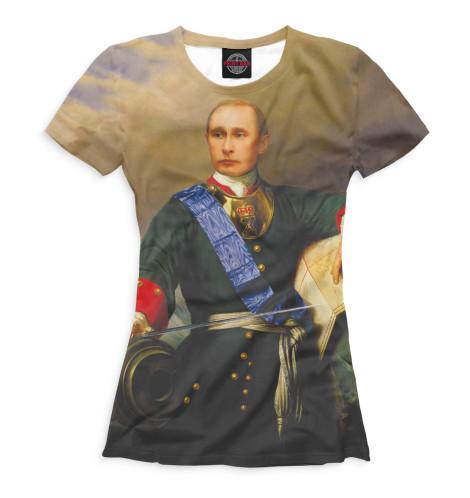 Женская футболка Путин