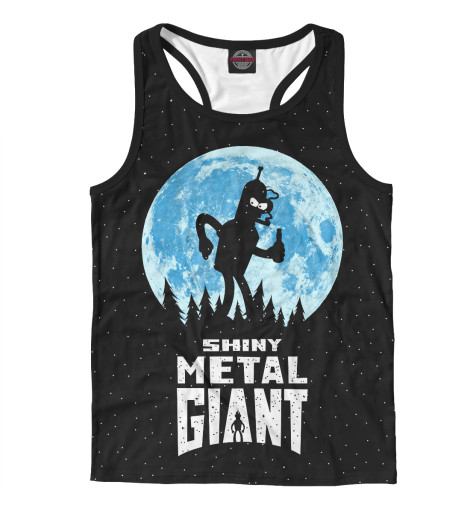 Майка борцовка Print Bar Bender Metal Giant майка борцовка print bar black metal ist krieg