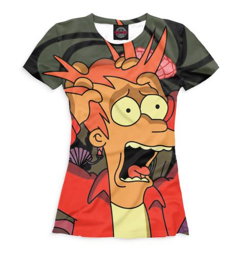 Женская футболка Фрай