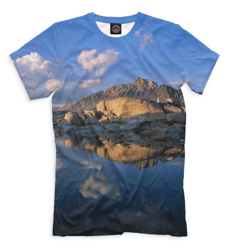 Мужская футболка Горы