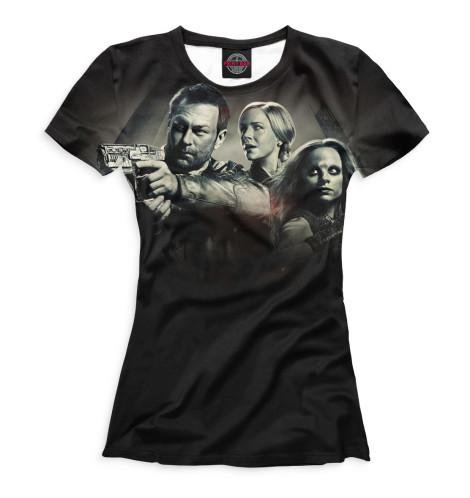 Женская футболка Вызов