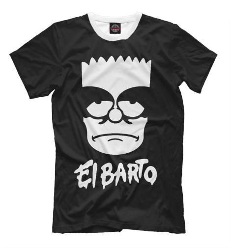 Футболка Print Bar El Barto туфли el tempo el tempo el072awvsd40