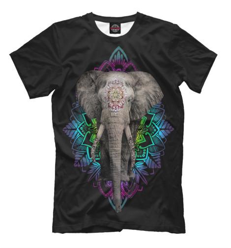Футболка Print Bar Индийский слон свитшот print bar слон