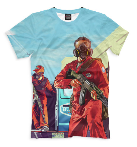 Мужская футболка Grand Theft Auto V