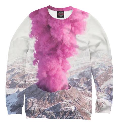 Свитшот Print Bar Розовый вулкан кронштейн опоры вулкан vr 500x500 нерж304