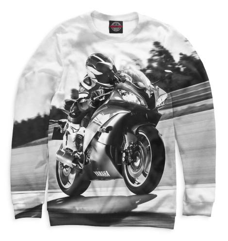 Женский свитшот Мотоциклист