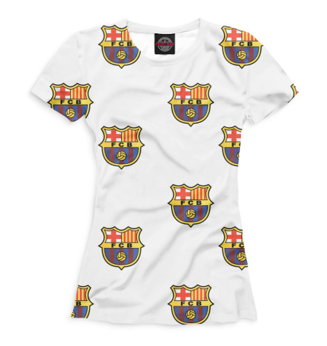 Женская футболка Паттерн FCB