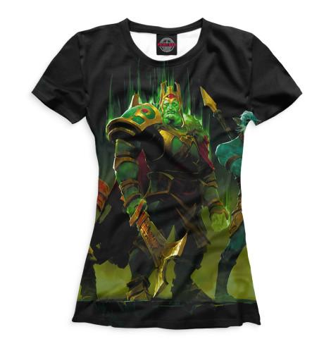 Женская футболка Wraith King