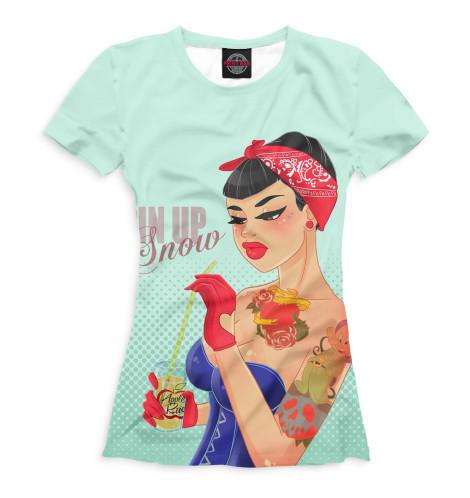 Женская футболка Пин-ап