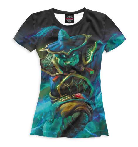 Женская футболка Storm Spirit