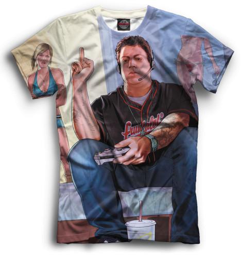 Мужская футболка Джимми Де Санта