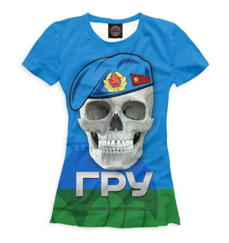 Женская футболка ГРУ