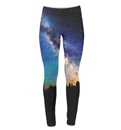 Легинсы Print Bar Звездное небо ночник bradex звездное небо