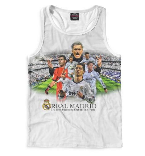 Мужская майка-борцовка Real Madrid