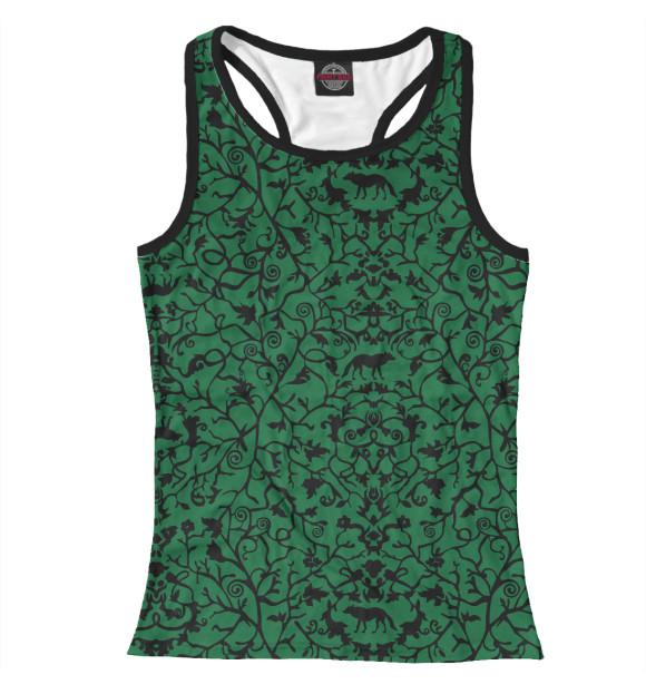 Майка для девочки Abstract Wolf Green ABS-712445-mayb-1  - купить со скидкой